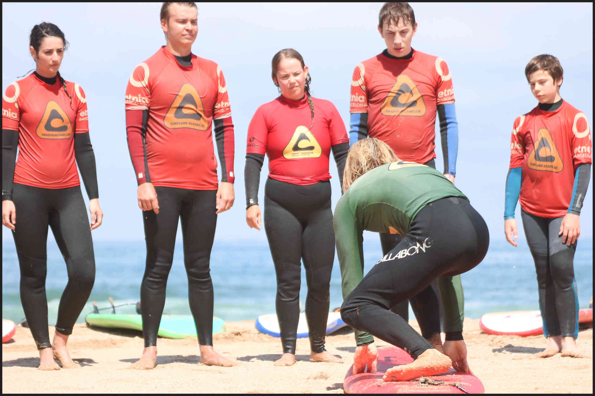 some theory in lesson algarve surf school portugal amado