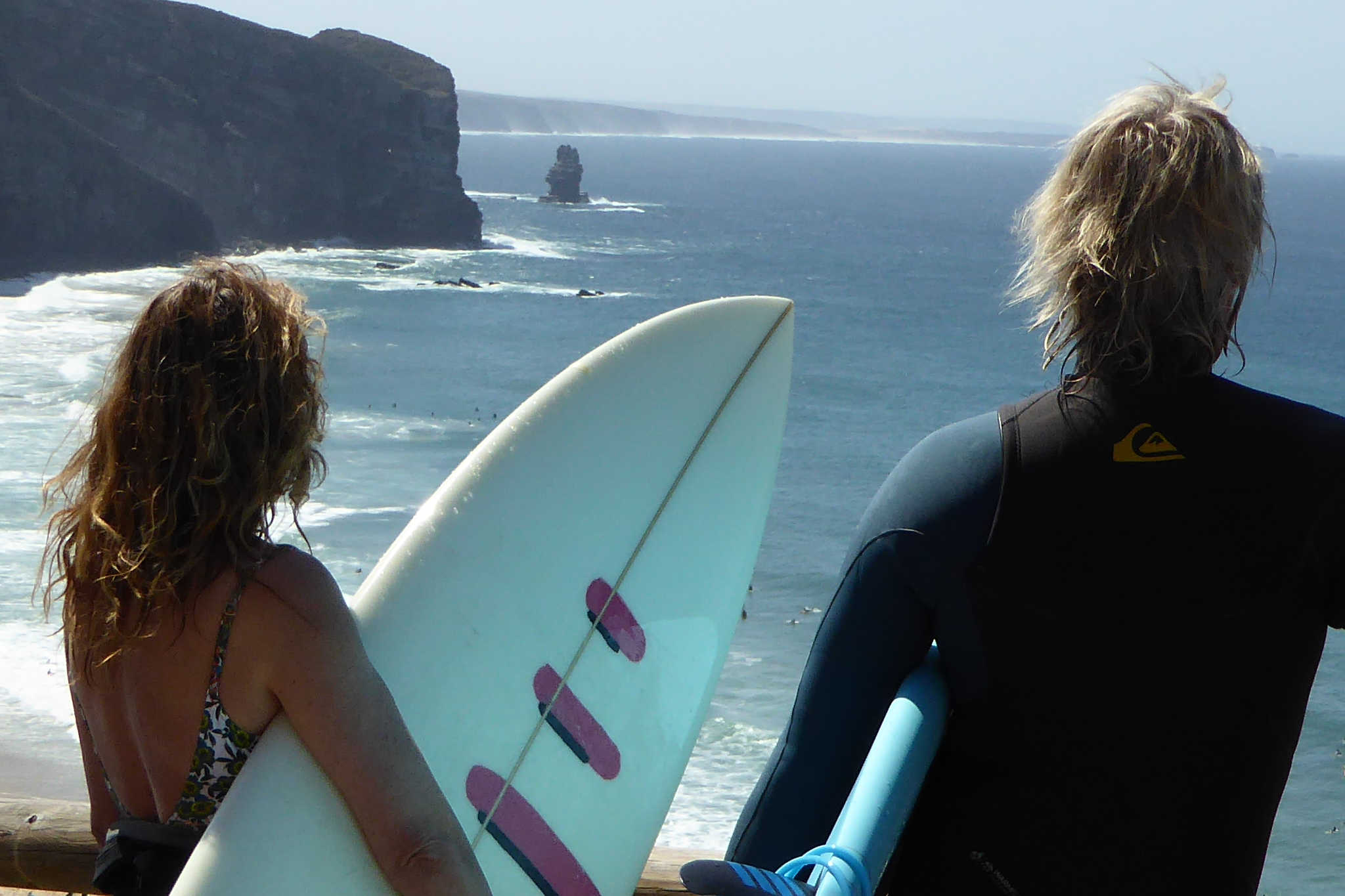 One-to-one surf guiding in the Algarve